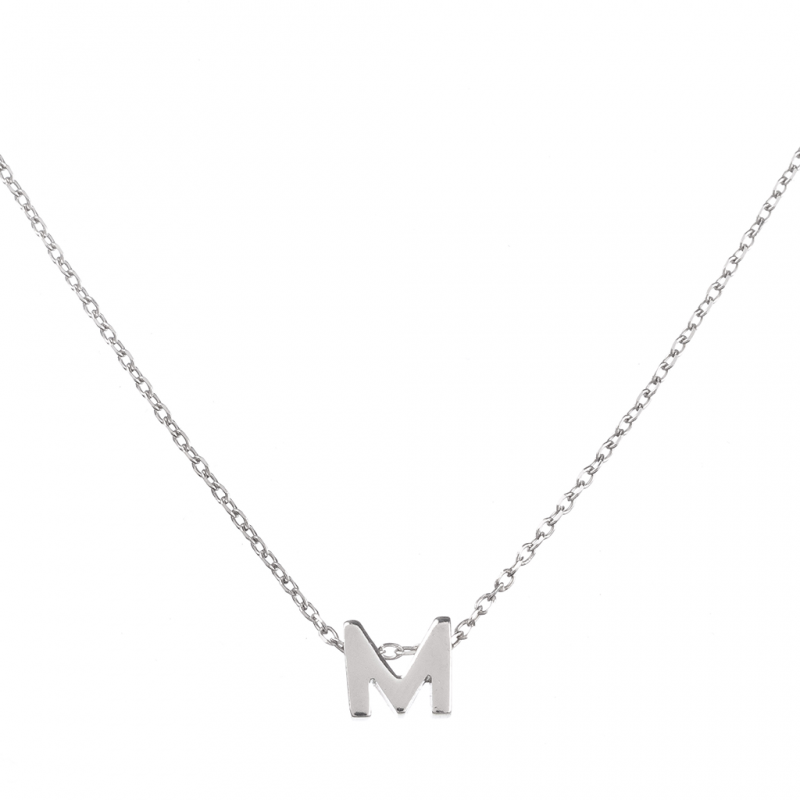 Comprar Initial Silver Necklace online