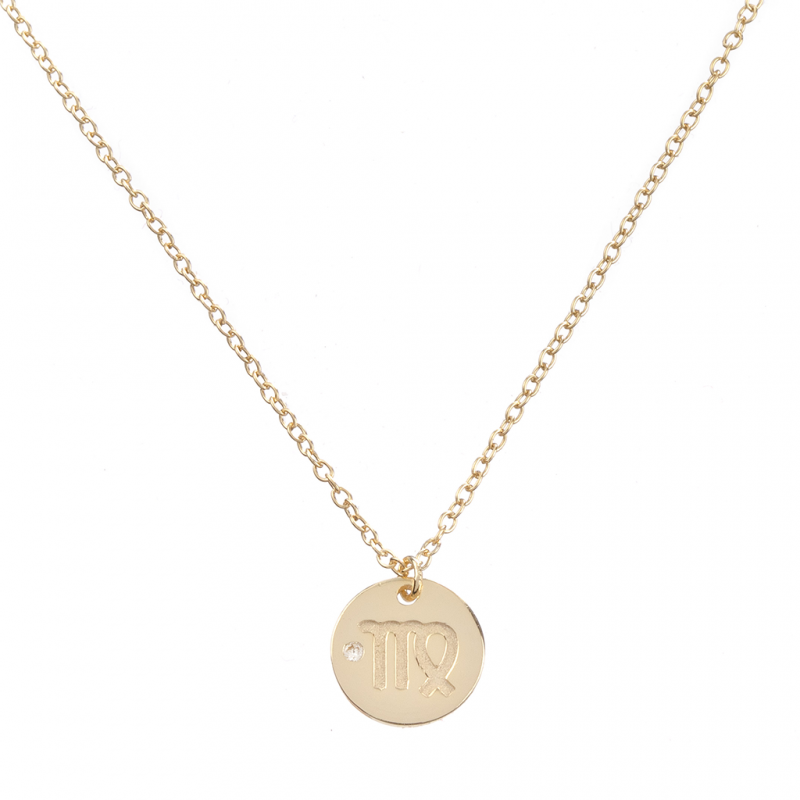 Comprar Zodiac Gold Necklace online