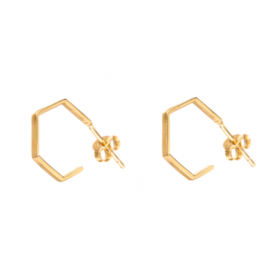 Compar Aral Gold Earrings online