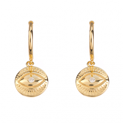Compar Ness Gold Earrings online