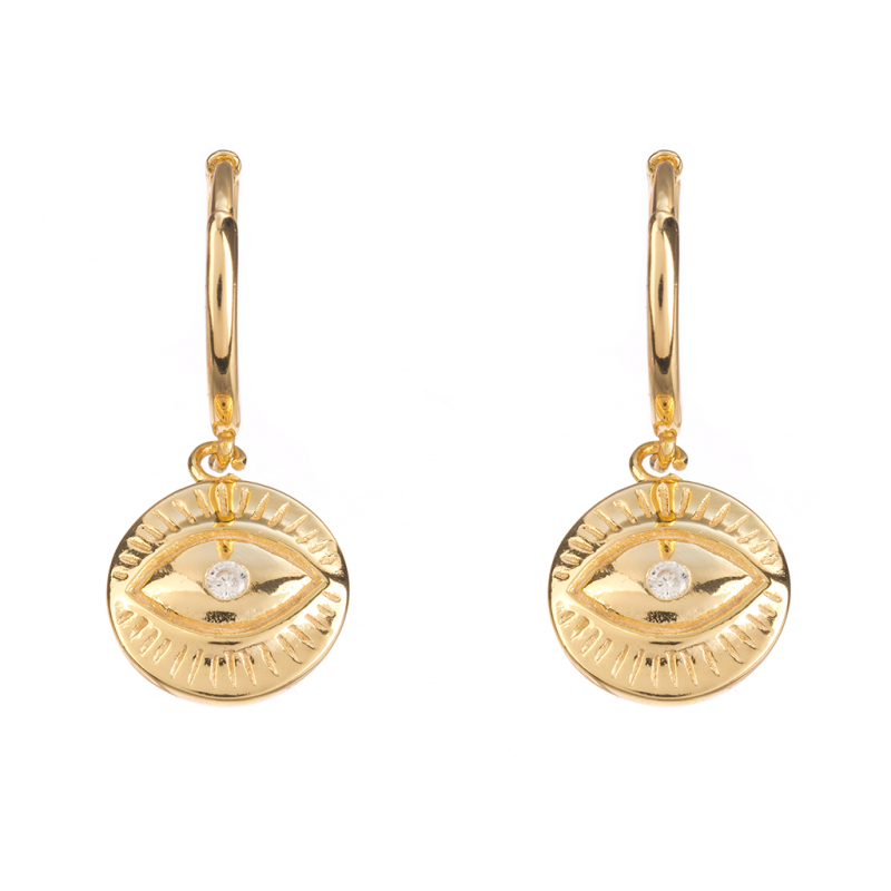 Comprar Ness Gold Earrings online