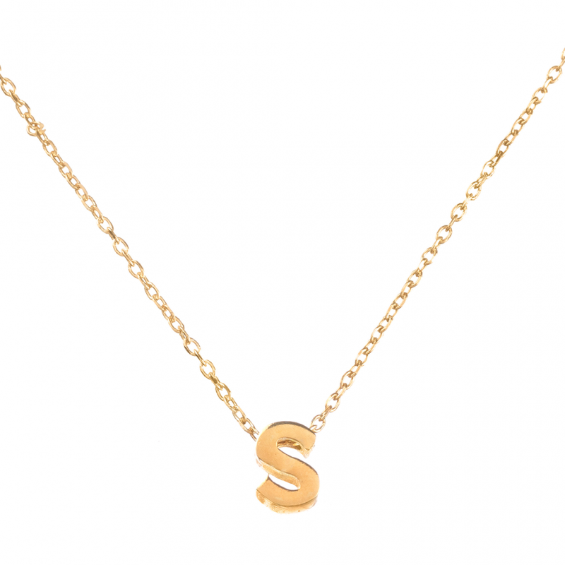 Comprar Initial Gold Necklace online