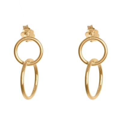 Compar Palm Gold Earrings online