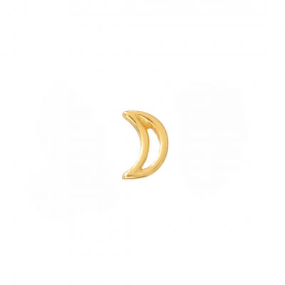 Compar Moon Gold Earrings online