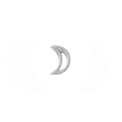 Compar Moon Silver Earrings online