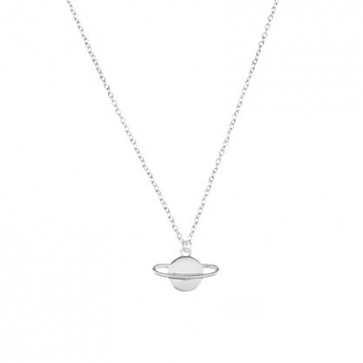 Compar Saturn Silver Necklace online