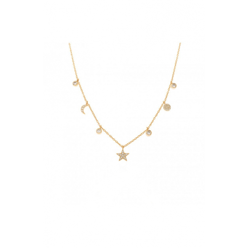 Comprar Tiana Gold Necklace online