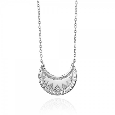 Compar Nefertiti Silver Necklace online