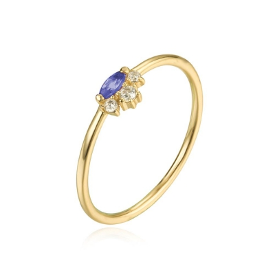 Compar Blue Gold Ring online