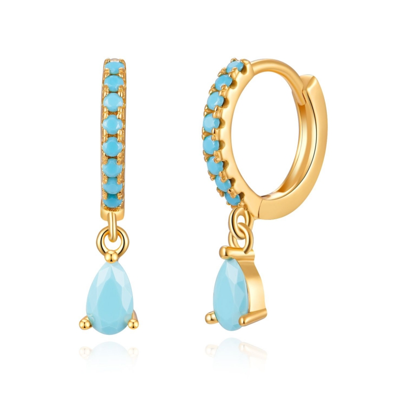 Comprar Lagoon Gold Earrings online