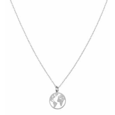 Compar World Silver Necklace online