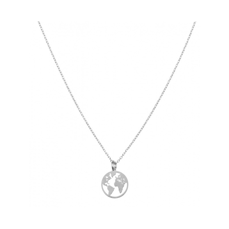 Comprar World Silver Necklace online