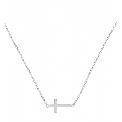 Compar Cross Silver Necklace online
