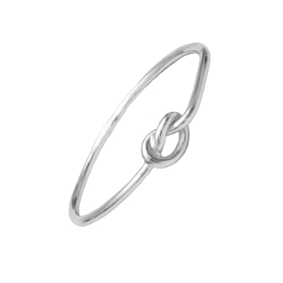 Compar Knot Silver Ring online