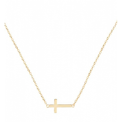 Compar Cross Gold Necklace online