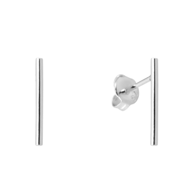 Compar Bar Silver Earrings online