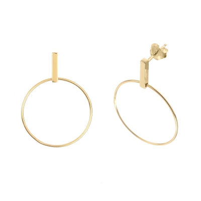 Compar Gala Gold Earrings online