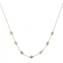 Compar Lynx Gold Necklace (choker) online