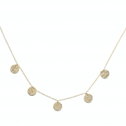 Compar Coins Gold Necklace online