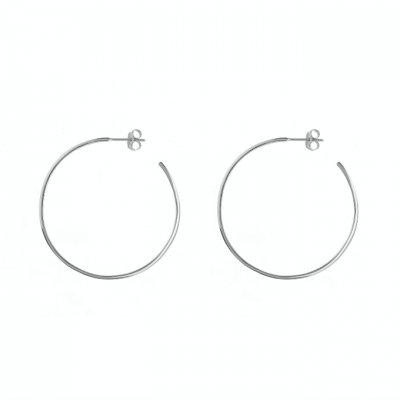 Compar Magnum Silver Earrings online