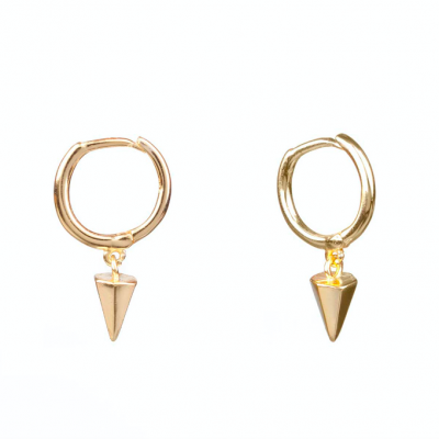 Compar Cone Gold Earrings online