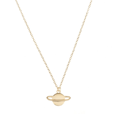 Compar Saturn Gold Necklace online