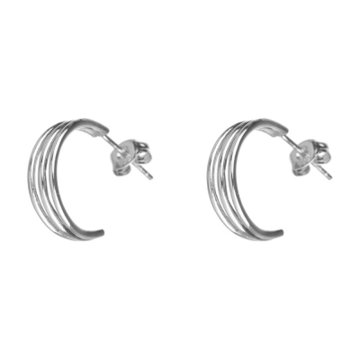 Compar Ginebra Silver Earrings online